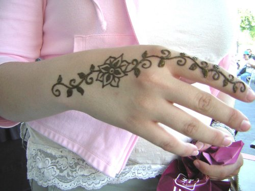 Henna Temporary Tattoos For Womens